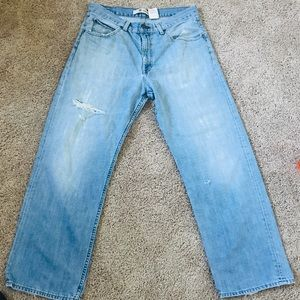Men's Gap Loose Fit Jeans, Size 34 x 30